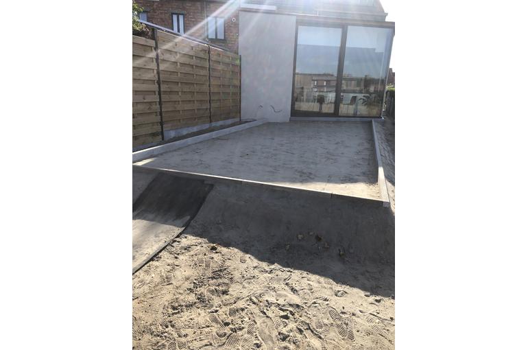 Gieten van betonvloeren