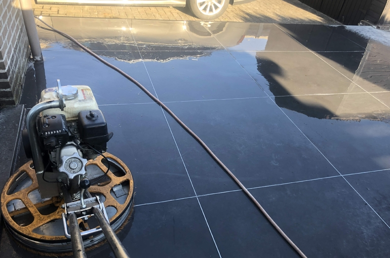 Renoveren van oude betonvloer 5