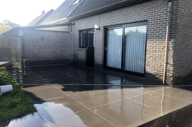 Renoveren van oude betonvloer 1