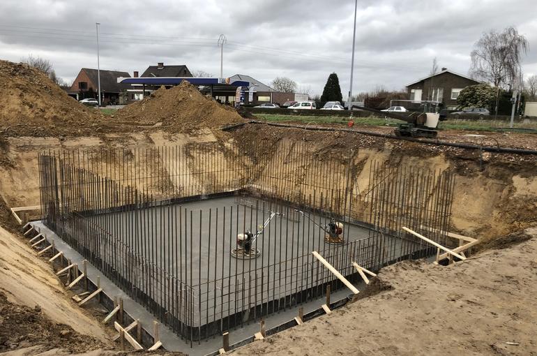 Gepolierde keldervloer voor nieuwbouwproject 3